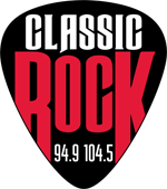 Classic Rock 94.9 & 104.5 The Pick Logo